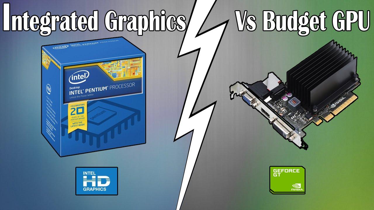 Разлики между вградена и външна видео карта
