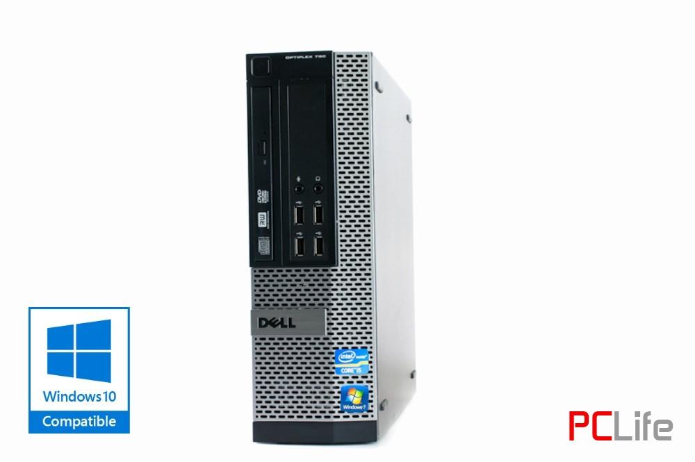 DELL 790 i5 sff + Windows - компютри втора ръка