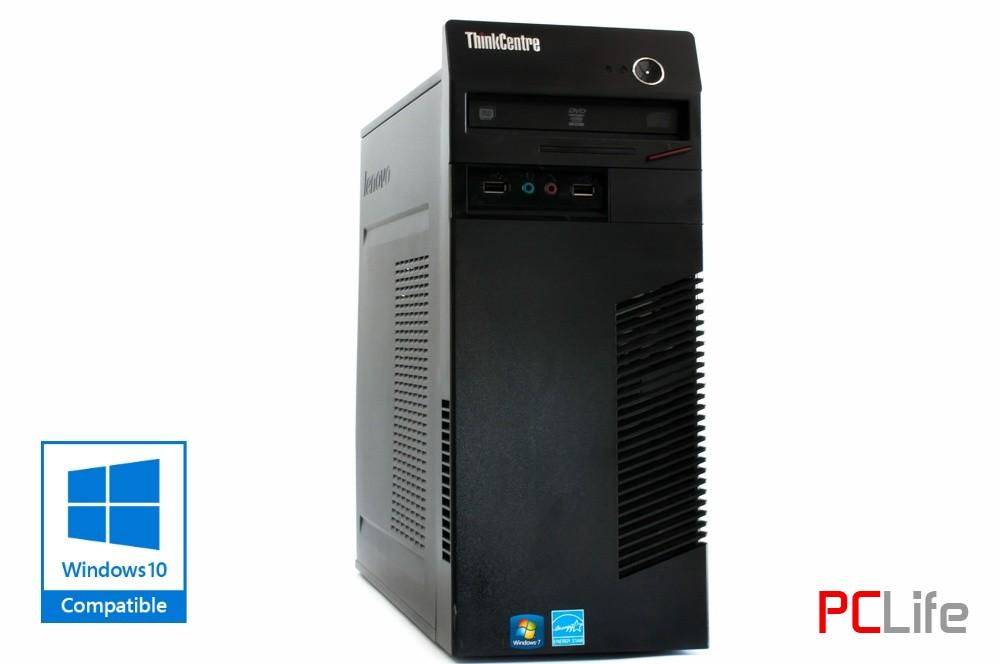 LENOVO ThinkCentre M72e  i5-2400 + Windows 10 - компютри втора ръка