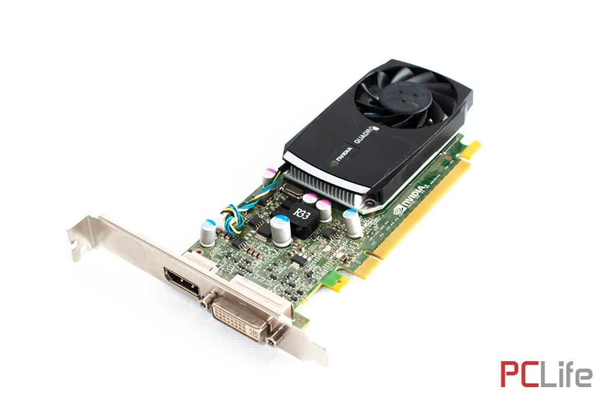 NVIDIA QUADRO 400 PCIe 512MB GDDR3 - видео карти втора ръка