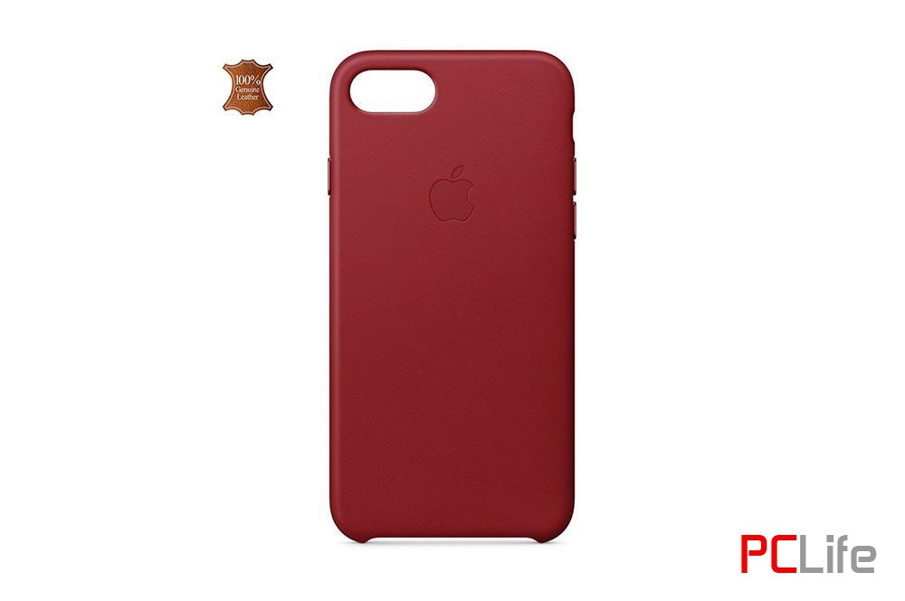 APPLE iPhone 7/8 leather case Red MQHA2ZM/A - калъф/протектор/ за iPhone 7/8