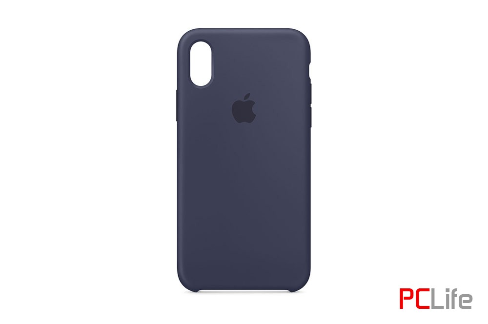 APPLE iPhone X silicone case Midnight Blue MQT32ZM/A - калъф/протектор/ за iPhone X