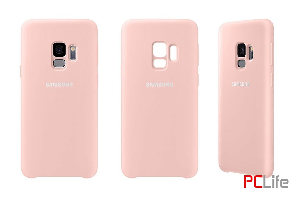 Samsung Galaxy S9 Silicone Cover, Pink EF-PG960TPEGWW - калъф/протектор/ за Samsung Galaxy