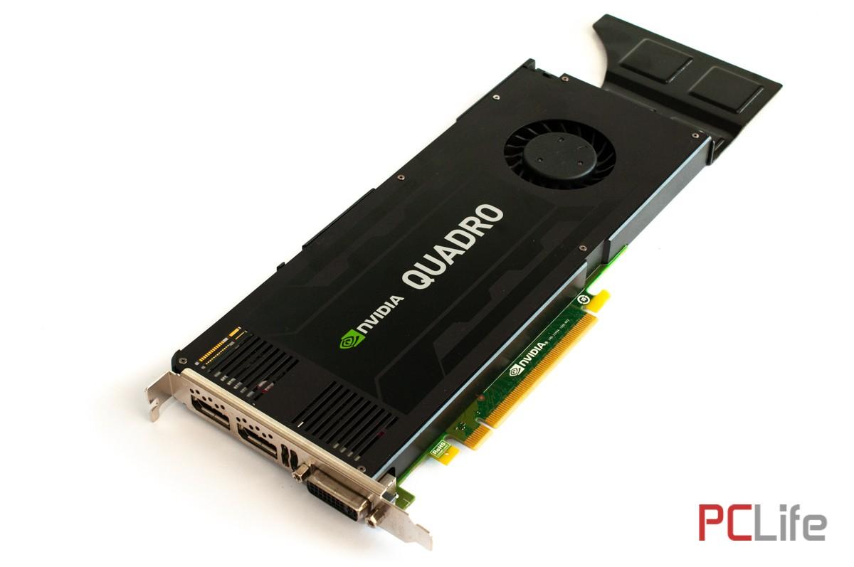 NVIDIA QUADRO K4200 4GB - видео карти втора ръка