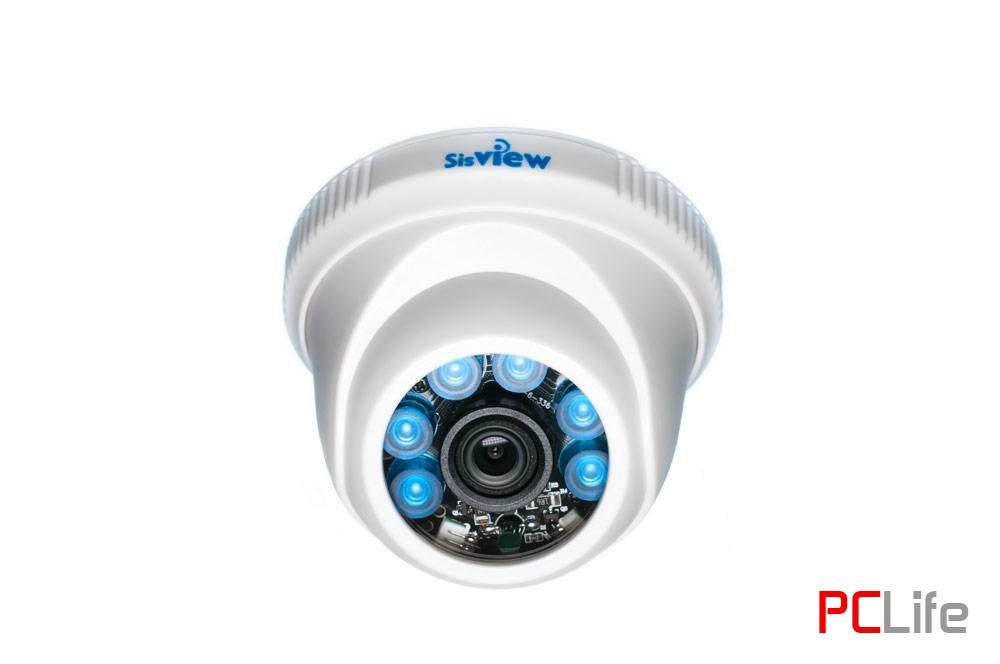 SV-AHD17 2Mp, 3.6mm, 20m. За вътрешен монтаж, ПВЦ - AHD камери за видео наблюдение