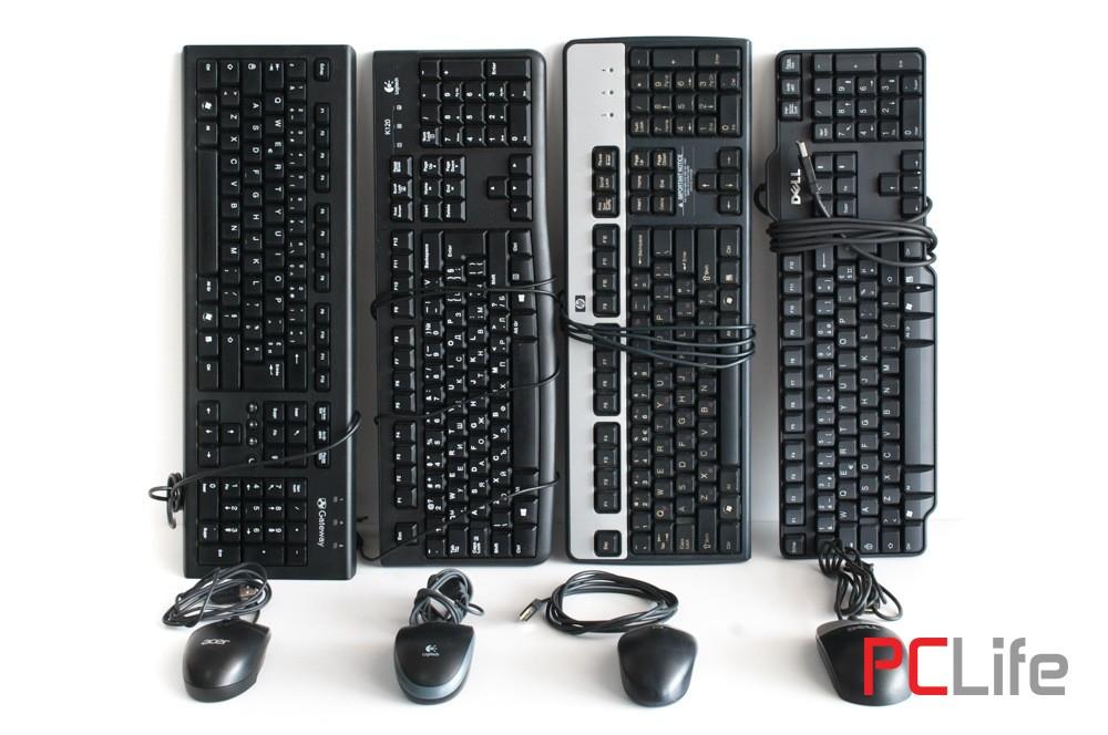 MIX клавиатури + мишки на USB втора ръка
