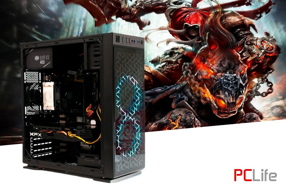 PCLife GAME i5 6500/ 8GB DDR4/240GB SSD/ AMD Radeon RX580 - геймърски компютри