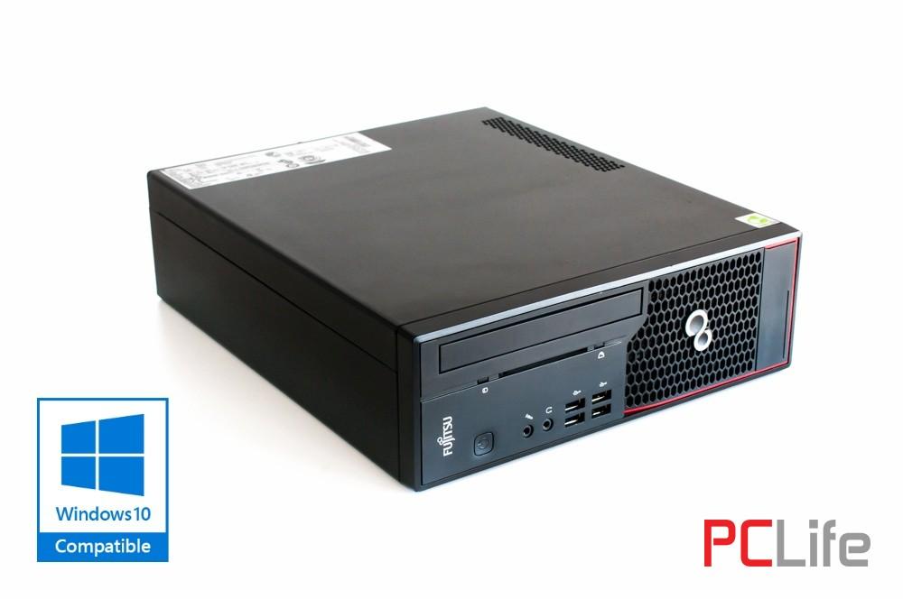 FUJITSU Esprimo C700 i3-2100 с оригинален Windows 10 - компютри втора ръка