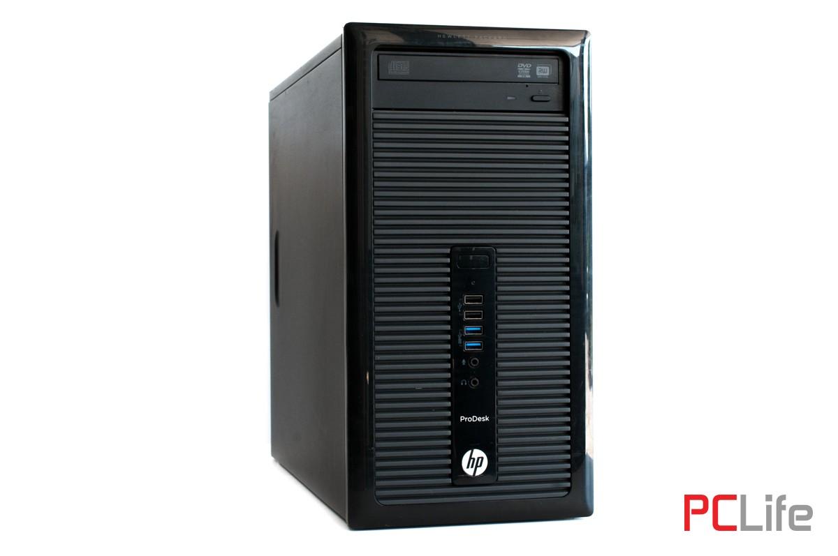 HP ProDesk 400 G1 T Core i3-4130/ 4GB DDR3/ 500GB HDD - компютри втора ръка