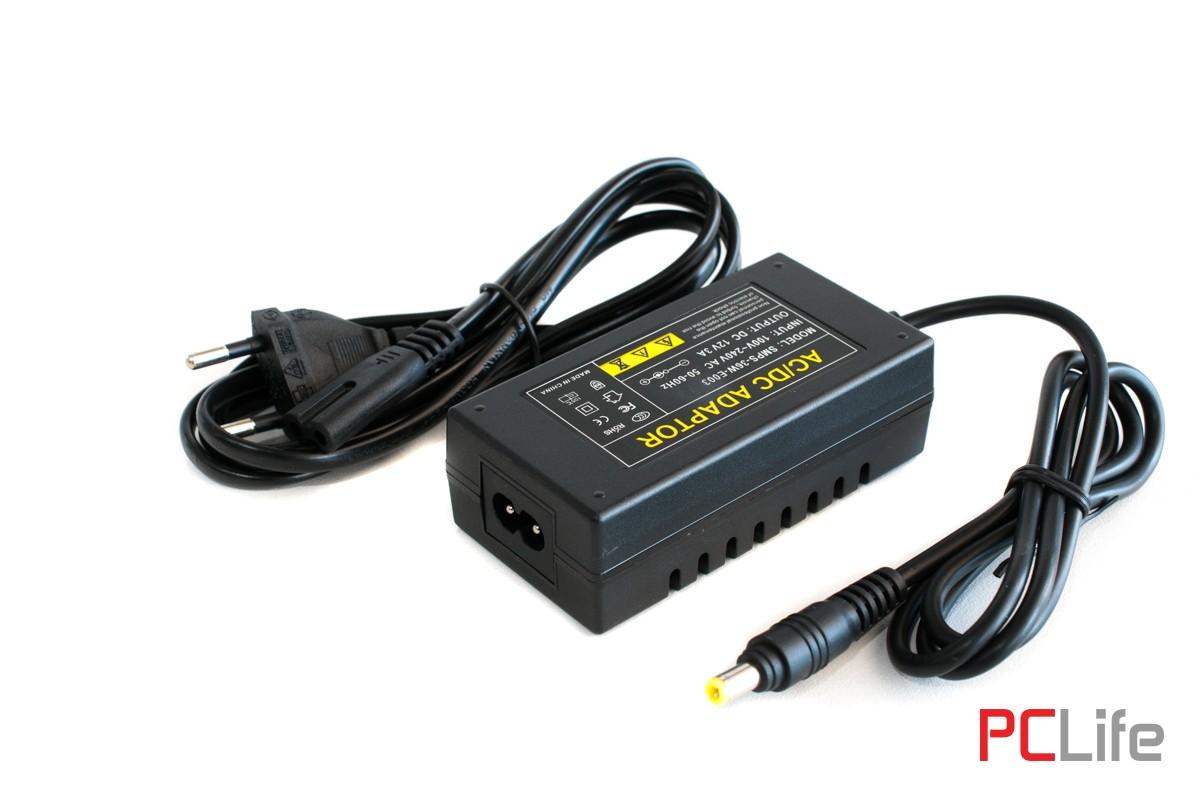 Захранване/адаптер 12V3A,SV-P03C за видеонаблюдение и други видове слаботокови системи