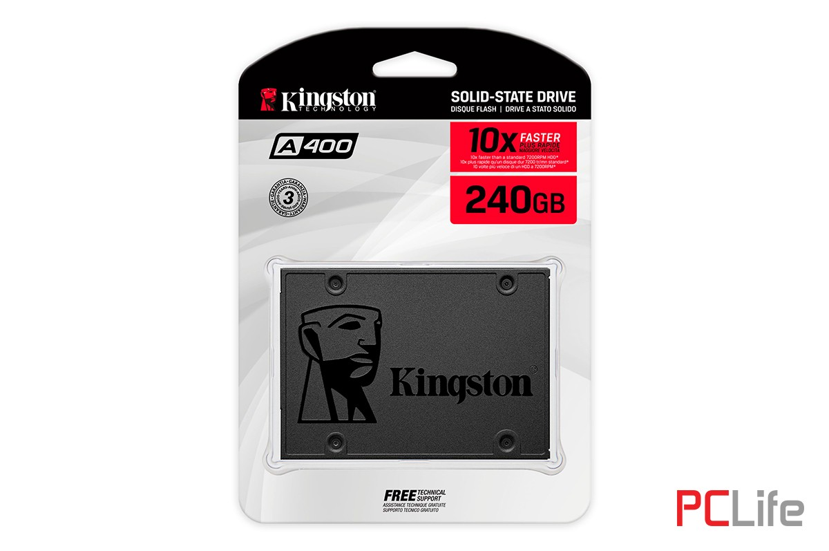 240GB SSD Kingston A400