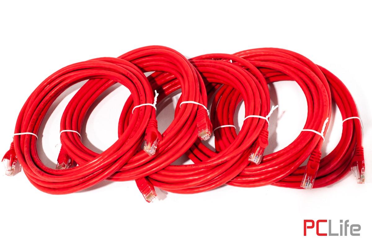 LAN кабел CAT6 /5 бр.x 4.6m./ Amazon - кабели за интернет