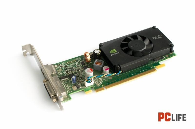 NVIDIA QUADRO FX380 - видео карти втора ръка