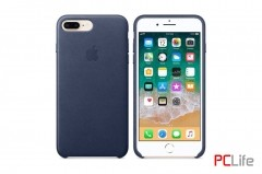 APPLE iPhone 7/8 leather case Midnight Blue MQH82ZM/A - калъф/протектор/ за iPhone 7/8