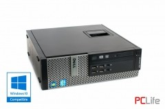 Dell OptiPlex 7010 sff i5-3470/4GB/128GB-SSD + Windows 10 - компютри втора ръка