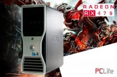 DELL T5500 Nvidia GeForce GTX1060 - геймърски компютри втора ръка