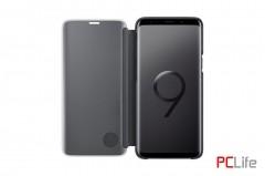 Samsung Clear View Standing Cover, Black EF-ZG960CBEGWW за Galaxy S9 - калъф/протектор/ за Samsung Galaxy
