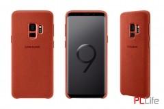 Samsung Galaxy S9 Alcantara Cover, Blue EF-XG960AREGWW- калъф/протектор/ за Samsung Galaxy
