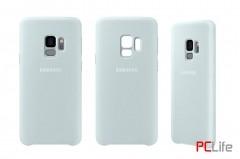Samsung Galaxy S9 Silicone Cover, Blue EF-PG960TLEGWW - калъф/протектор/ за Samsung Galaxy