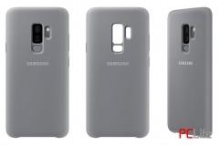 Samsung Galaxy S9+ Silicone Cover, Grey EF-PG965TJEGWW - калъф/протектор/ за Samsung Galaxy