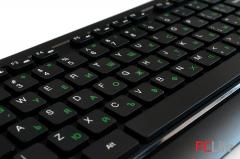DELUX KA150U+M136BU клавиатура и мишка