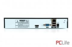 SV-6004N 4 канала 1080P NVR, Onvif, HDMI, Euro Plug, Support 1 HDD - видеонаблюдение