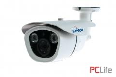 SV-IP27 IP 2Mp,3.6mm, 30-50m., Sony chip. За вътрешен и външен монтаж - IP камери за видео наблюдение