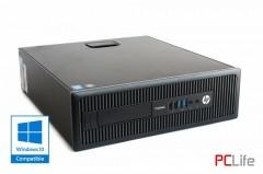 HP ProDesk 600 G1 + Windows 10 sff i3-4130 - компютри втора ръка