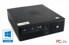 HP rp5700 + Windows 10 Pentium E5700 4GB DDR2 160GB HDD - компютри втора ръка