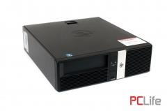 HP rp5800 Retail System  i3-2100 4GB DDR3 / 250GB HDD - компютри втора ръка