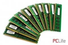 Памет DDR3 4GB/1333MHz/PC3-10600U - лот от 10бр.памет за компютри втора ръка