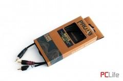 Procab CLА711/3, 3.5mm. Jack M Stereo-2x RCA M, 3m. - аудио кабели