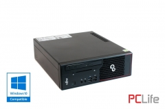 FUJITSU Esprimo C720 sff Core i5-4590 4GB DDR3 500GB HDD с оригинален Windows 10 - компютри втора ръка