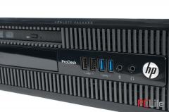 HP ProDesk 400 G1 sff Core i5-4400/ 4GB DDR3/ 500GB HDD - компютри втора ръка с Windows 10