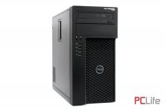 DELL PRECISION T1650 Intel Xeon  E3-1220v3, 8GB DDR3 ECC, 500GB HDD, Nvidia Quadro NVS 300 512MB - работни станции втора ръка
