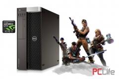 Dell Precision T5810 Xeon E5-1620v3 32GB DDR4 256GB-SSD Nvidia GeForce GTX 1070 Ti 8GB GDDR5 256bit - геймърски компютри втора ръка
