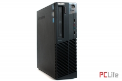 LENOVO ThinkCentre M91p sff + Windows 10 Core i7-2600/ 8GB DDR3/ 500GB HDD - компютри втора ръка