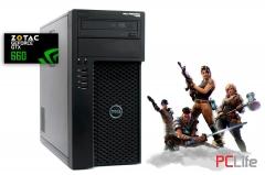 DELL PRECISION T1650 Intel Xeon E3-1240v2/ 8GB DDR3 ECC 500GB HDD Zotac GTX 660 2GB 192-bit GDDR5 - геймърски компютри втора ръка
