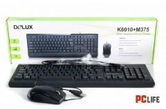 DELUX DLK-6010 + M375U клавиатура и мишка