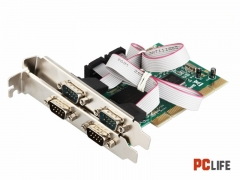 PCI RS232x4 MOSCHIP MM-PIO9865-4S - контролери