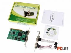 PCI RS232x4 MOSCHIP MM-PIO9865-4S - контролери